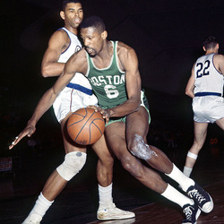 Bill Russell in action